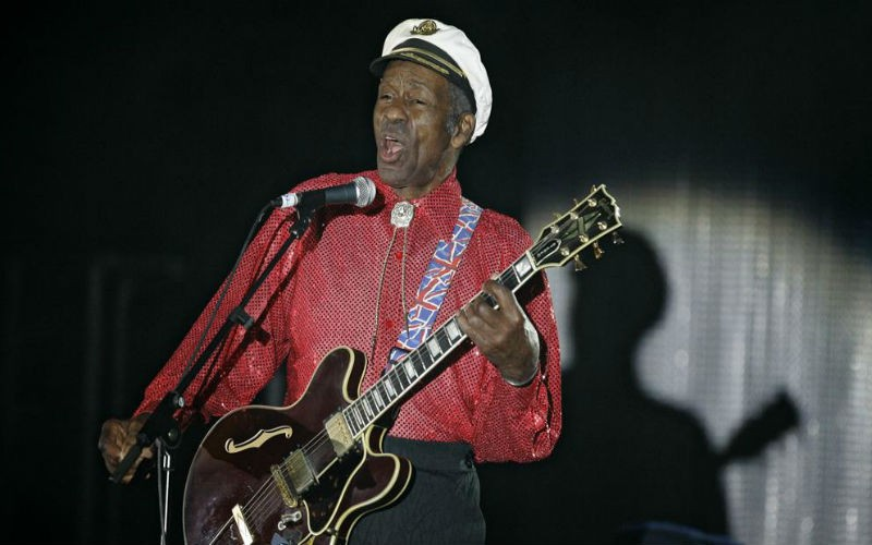 Murió Chuck Berry, la leyenda del  Rock and roll