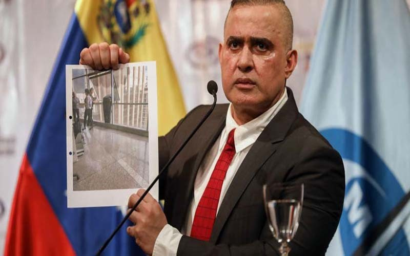 Fiscal William Saab ratifica que concejal Fernando Albán se suicidó