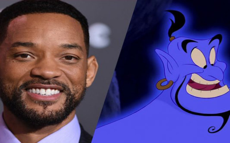 "Will Smith negocia con Disney interpretar al genio en la nueva ""Aladdin"""
