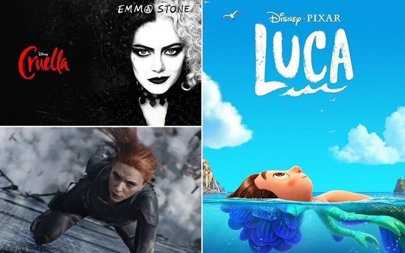 "Disney estrenará ""Black Widow"", ""Cruella"" y ""Luca"" por streaming"