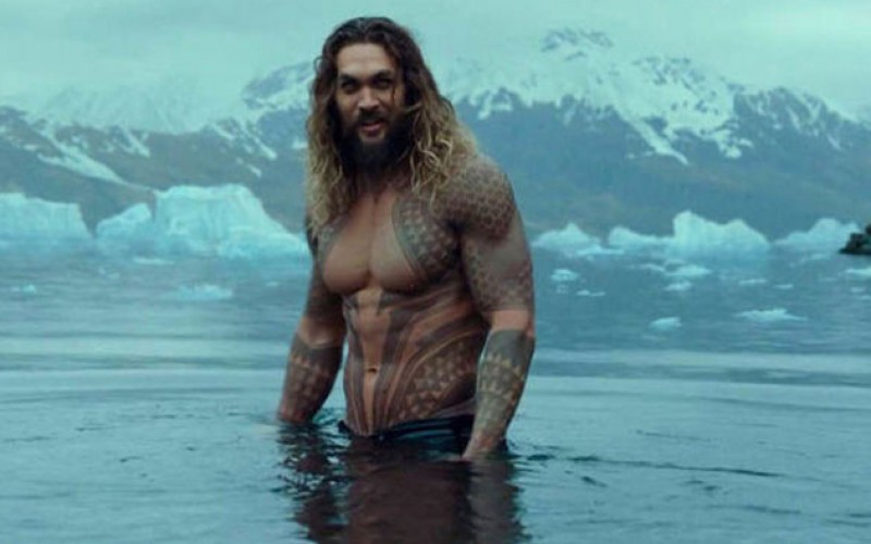 "Actor Jason Momoa anunció el estreno de ""Aquaman"" (+video)"