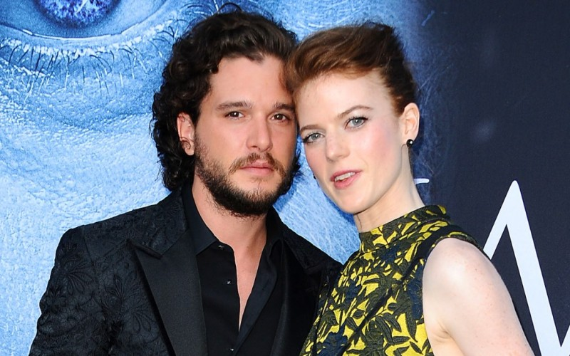 Supuesta infidelidad de Kit Harington a Rose Leslie de Game of Thrones crea polémica