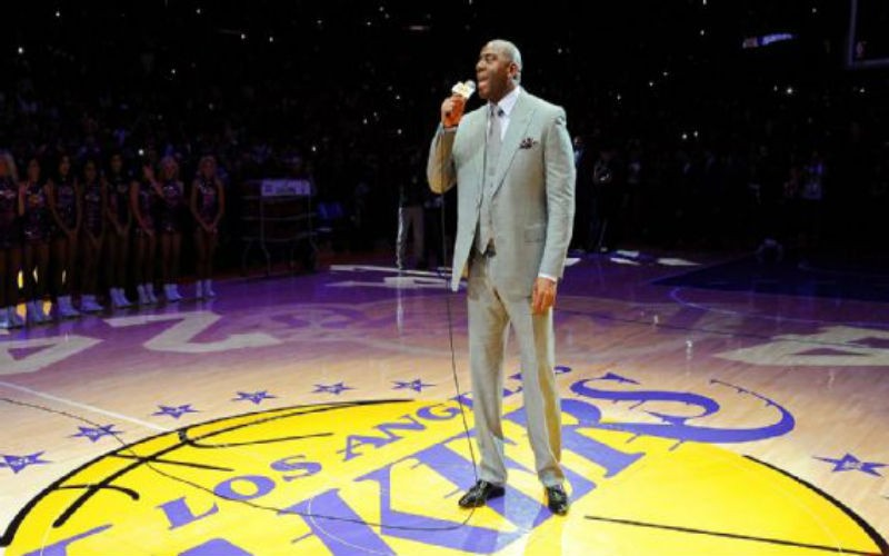 Magic Johnson es el nuevo gerente general de los Lakers