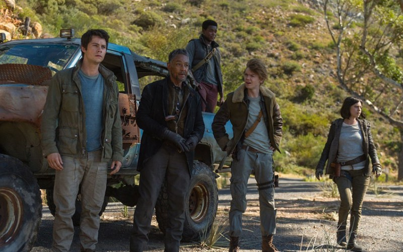 """Maze Runner: The Death Cure"" desbanca a ""Jumanji"" del número uno"